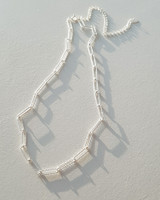Cutting Clip Chain Necklace Sterling Silver on kellinsilver.com