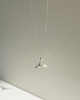 Whale Tail Necklace Sterling Silver on kellinsilver.com