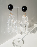 Missy Acrylic Drop Earrings on kellinsilver.com