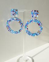 Electric Drop Earrings in SKY on kellinsilver.com