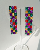 Strass Fall Earrings on kellinsilver.com