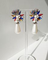 Elie Pearl Drop Earrings on kellinsilver.com