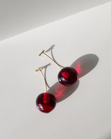3D Cherry Earrings on kellinsilver.com