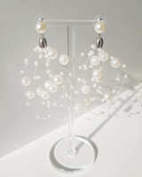 Festive Pearl Earrings on kellinsilver.com