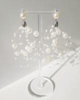 Festive Pearl Earrings on kellinsilver.com