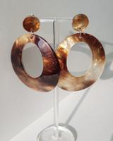 Mica Acrylic Earrings on kellinsilver.com