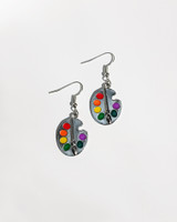 Color Palette Earrings on kellinsilver.com