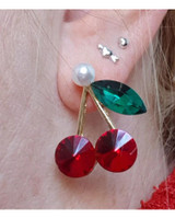 Cherry and Pearl Earrings on kellinsilver.com