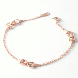 Rose Gold Horsebit Bracelet from kellinsilver.com