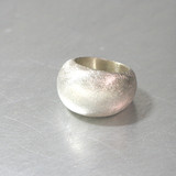 Sterling Silver Texture volume Dome Ring from kellinsilver.com