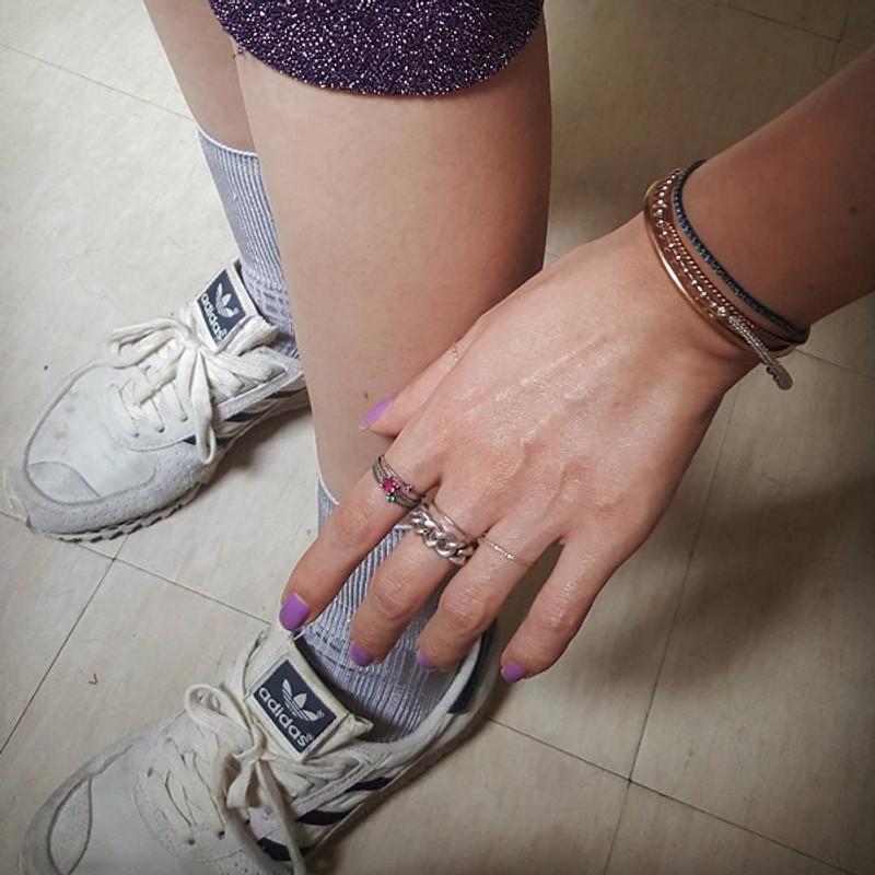 Curved Pave Bar Ball Bracelet Sterling Silver from kellinsilver.com