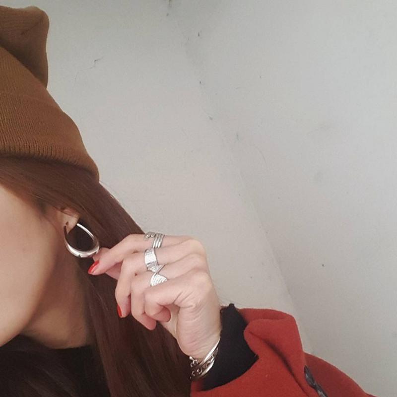Sterling Silver Side Teardrop Snap Hoop Earrings Medium from kellinsilver.com