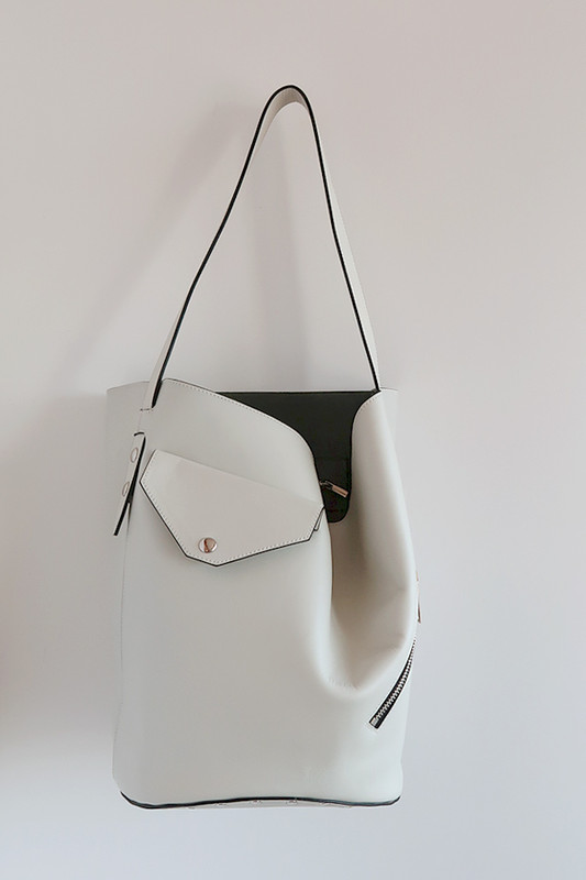 Biker Bucket Bag from kellinsilver.com