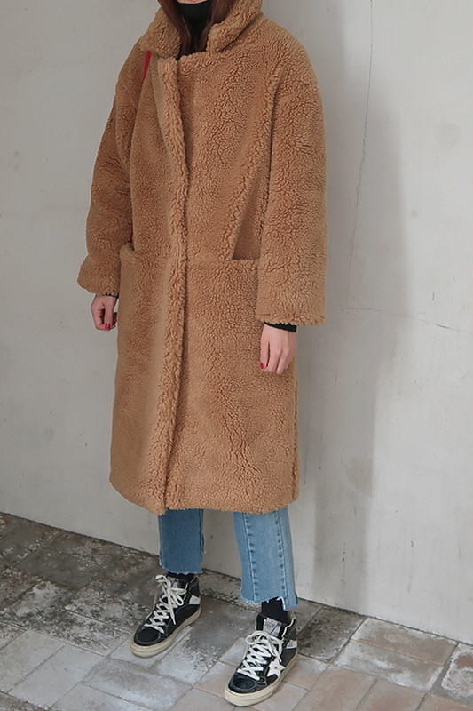 Faux Shearing Coat on kellinsilver.com