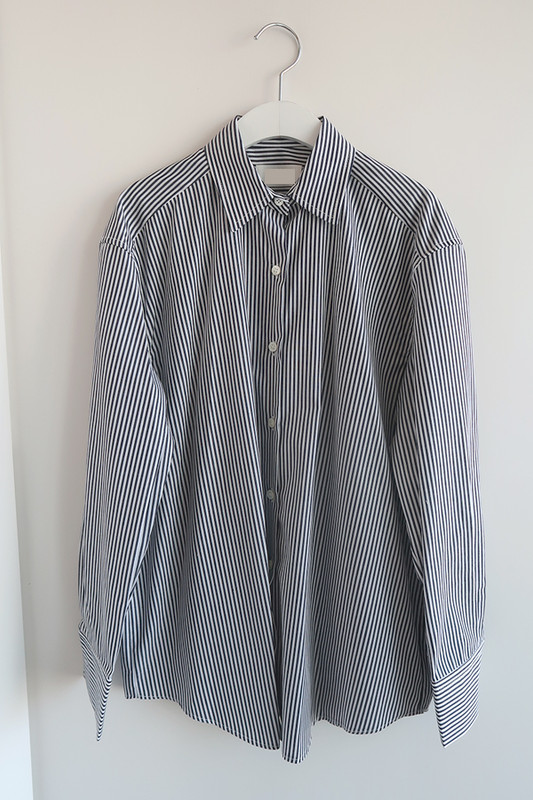 Navy Striped Cotton Shirts on kellinsilver.com