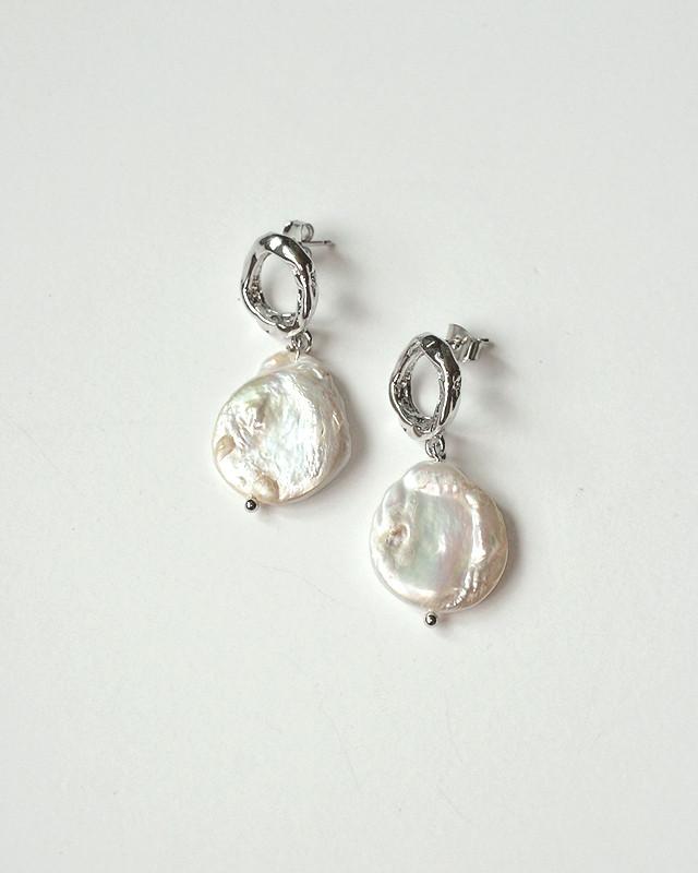 Moment Pearl Dangle Earrings from kellinsilver.com