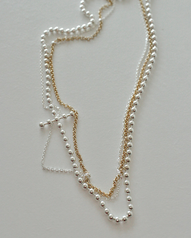 Combination Chain Ryan Choker Necklace Sterling Silver from kellinsilver.com