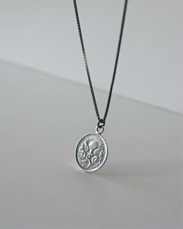 AU 5 Cent Elizabeth Coin Long Necklace Sterling Silver from kellinsilver.com