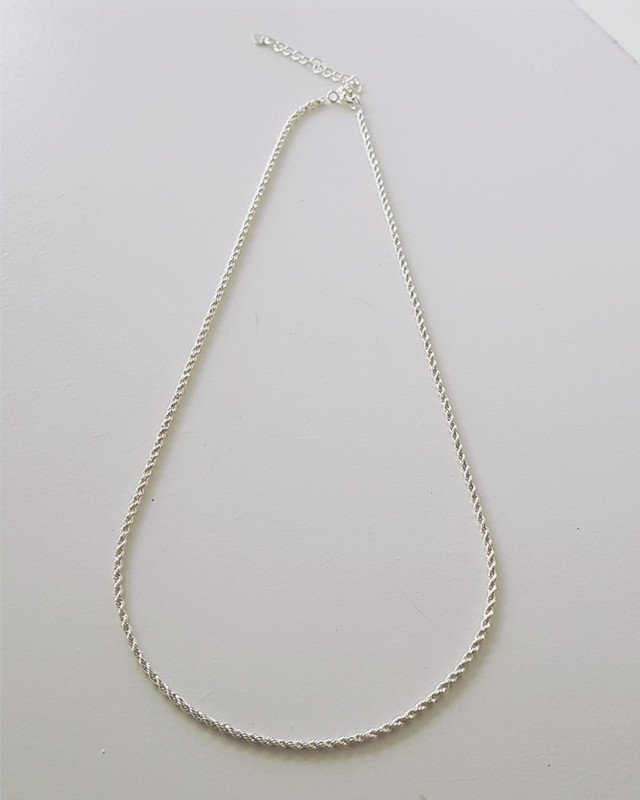 Cable Chain Necklace Sterling Silver from kellinsilver.com