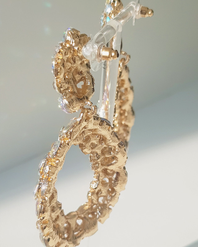 Jewel Teardrop Dangle Earring from kellinsilver.com