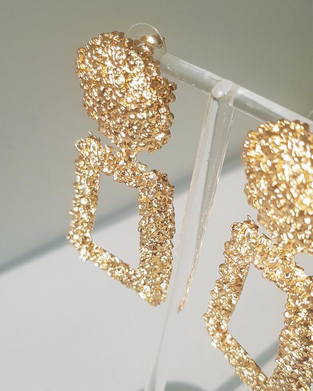 Gold Sistine Dangle Earrings from kellinsilver.com