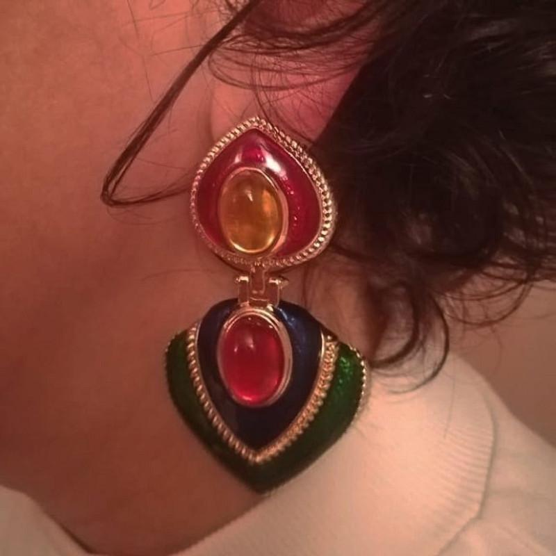Angelina Drop Earrings from kellinsilver.com