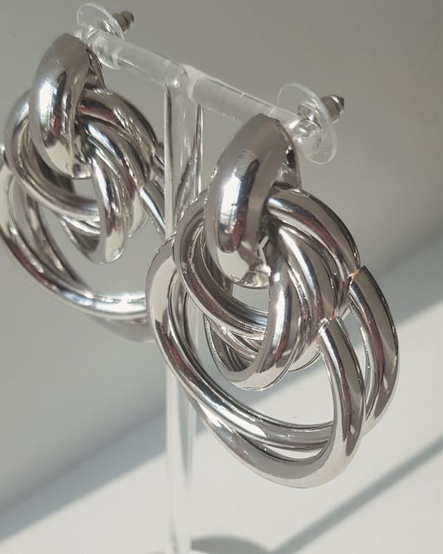 Bold Multi Hoop Earrings from kellinsilver.com