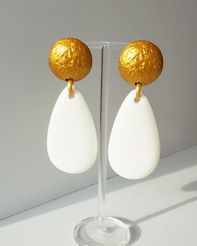 Camber Teardrop Earrings on kellinsilver.com