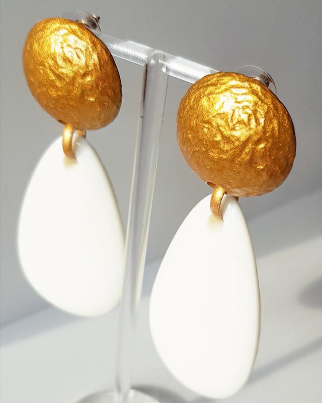 Camber Teardrop Earrings on kellinsilver.com