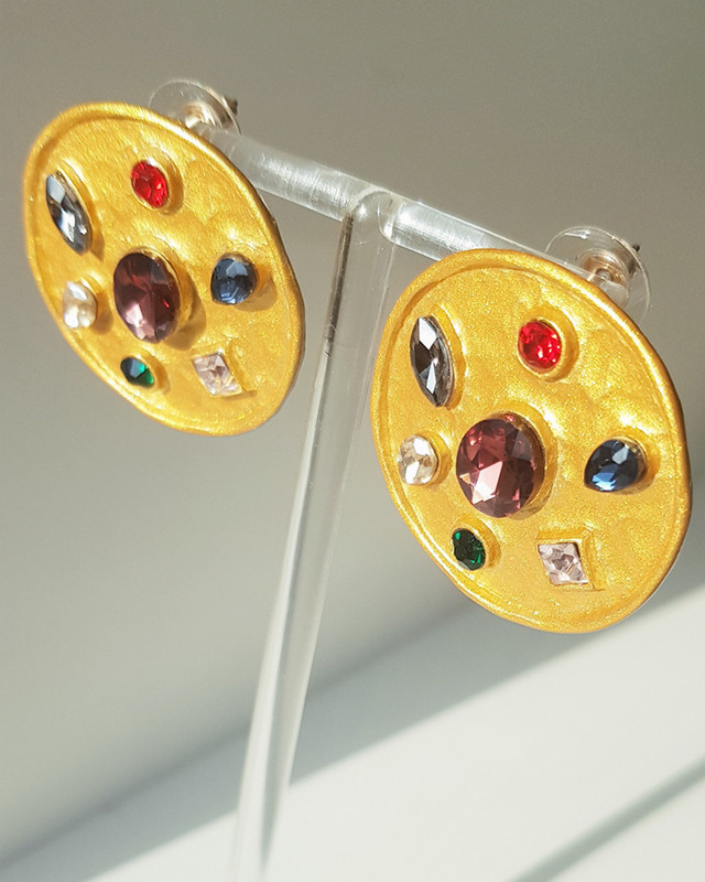 Vintage Garden Earrings on kellinsilver.com