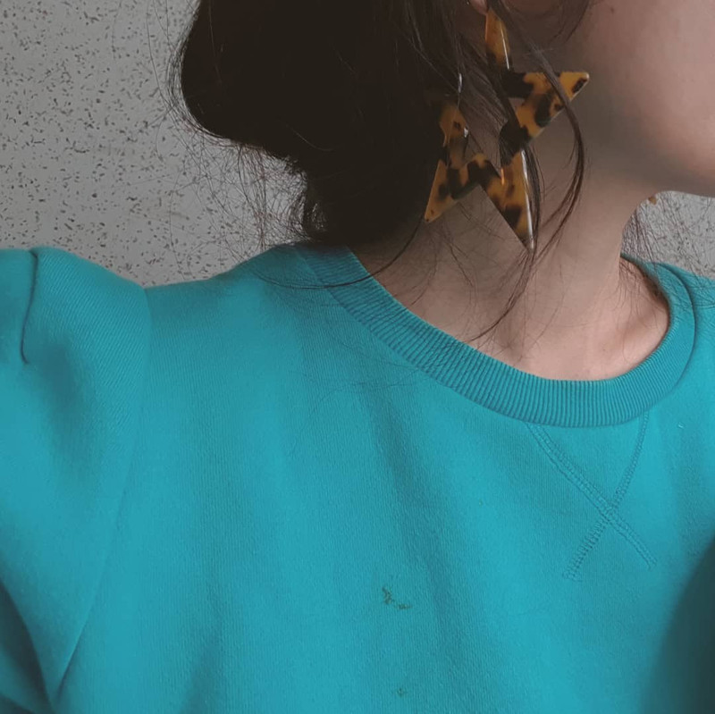 Tortoise Large Star Earrings on kellinsilver.com