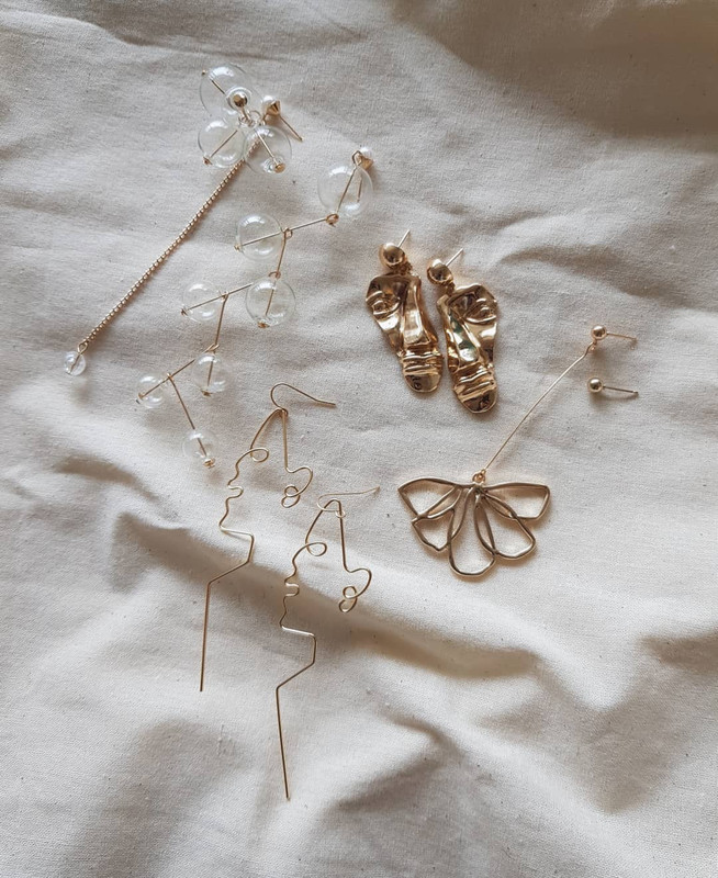 Tana Bubble Earrings on kellinsilver.com
