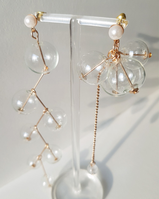 Tana Bubble Earrings on kellinsilver.com