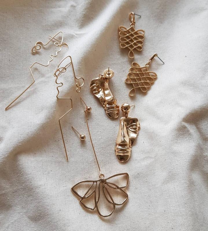 Falling Flower Earrings from kellinsilver.com