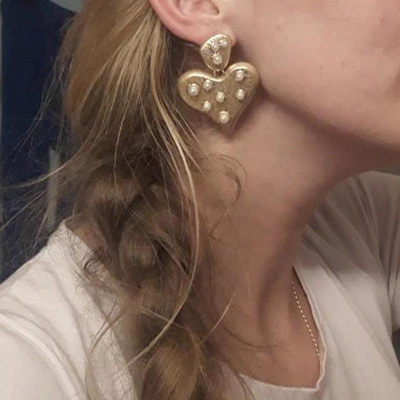Leandra Heart Earrings