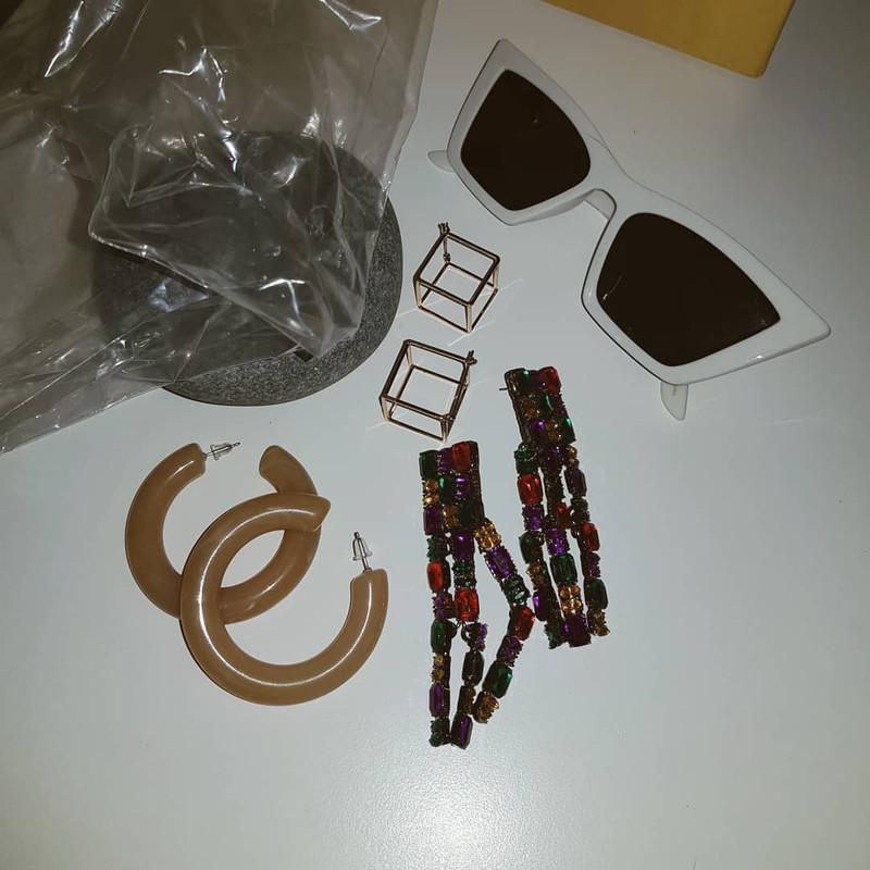 Strass Fall Earrings on kellinsilver.com