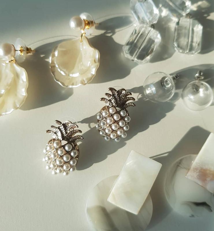 Bubble Ball Earrings on kellinsilver.com