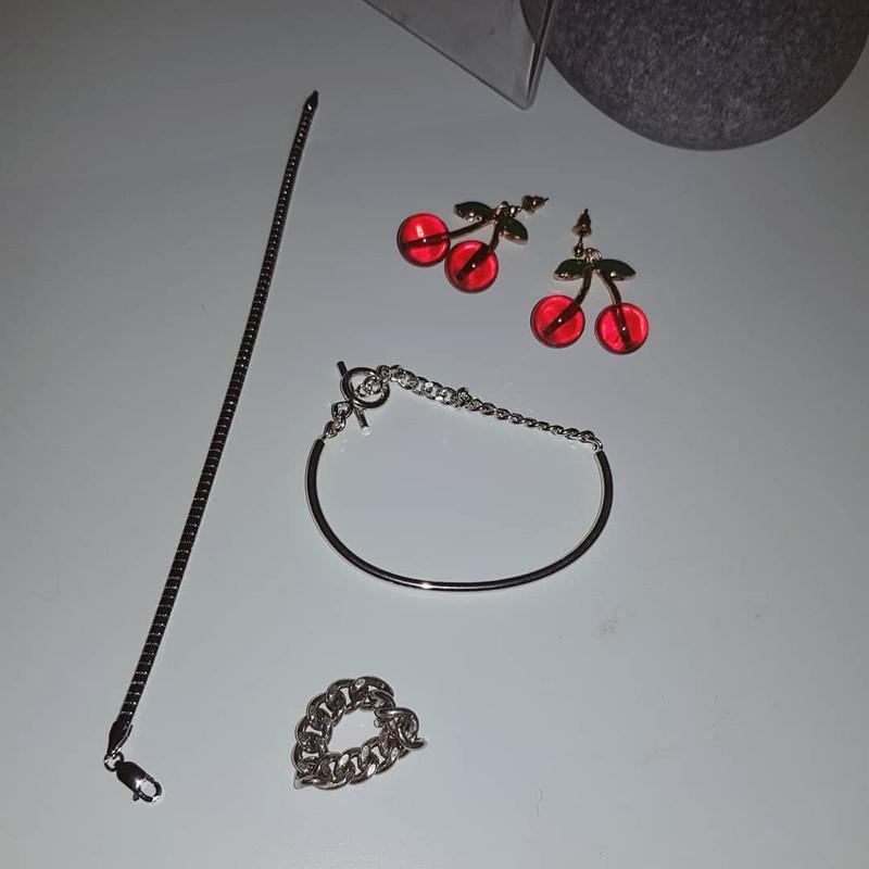 Cute Cherry Earrings on kellinsilver.com