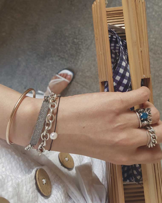 Freshwater Pearl String Bracelets on kellinsilver.com
