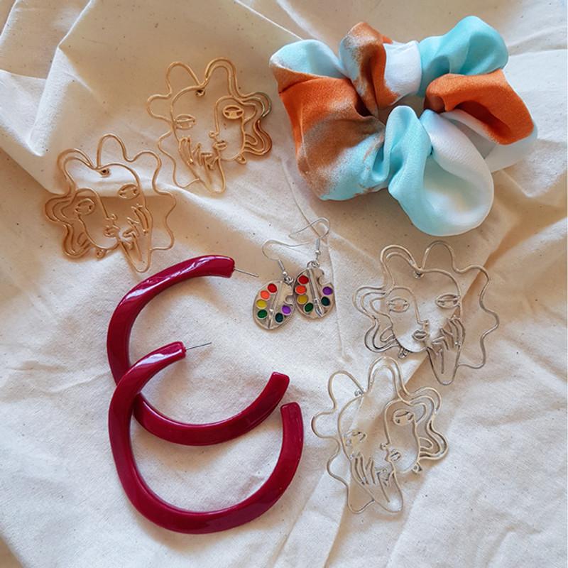 Color Palette Earrings on kellinsilver.com