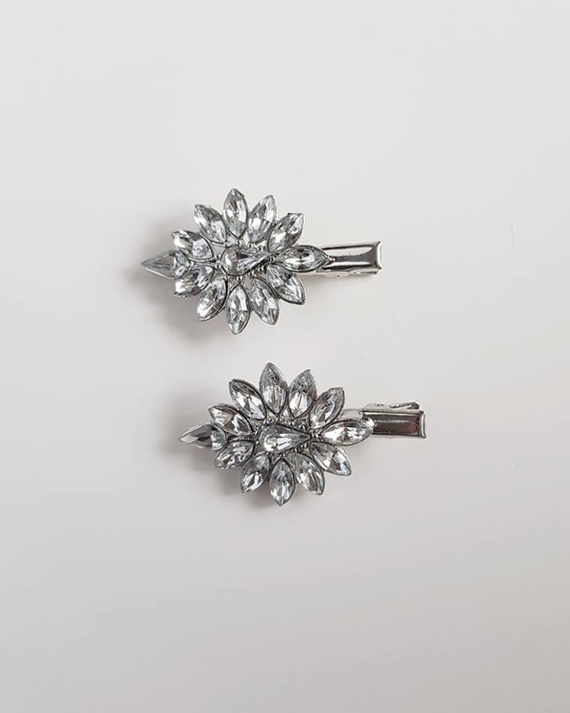 Gemini Rhinestone Hair Clips on kellinsilver.com
