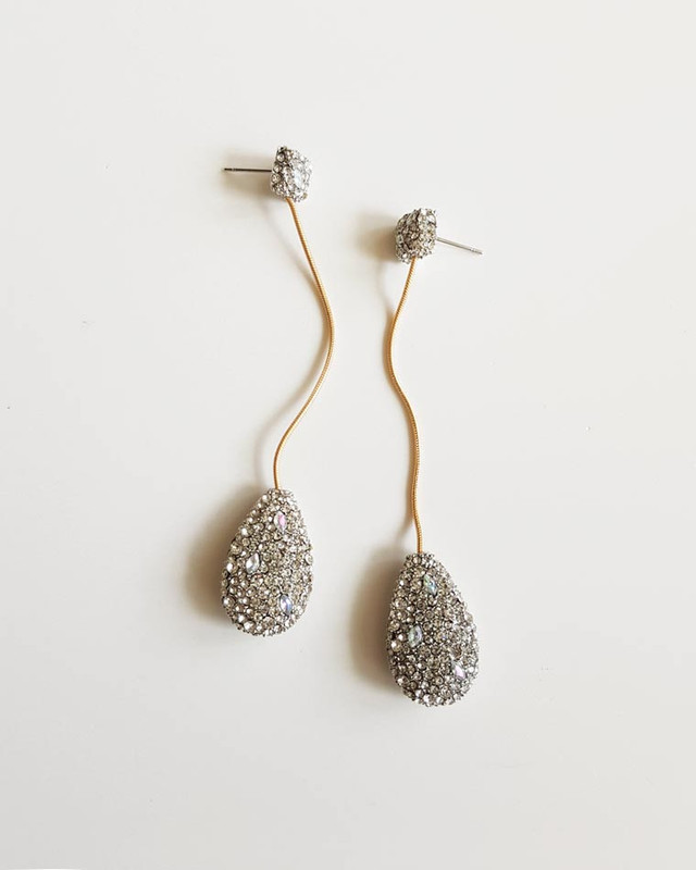 Elegant Teardrop Earrings on kellinsilver.com