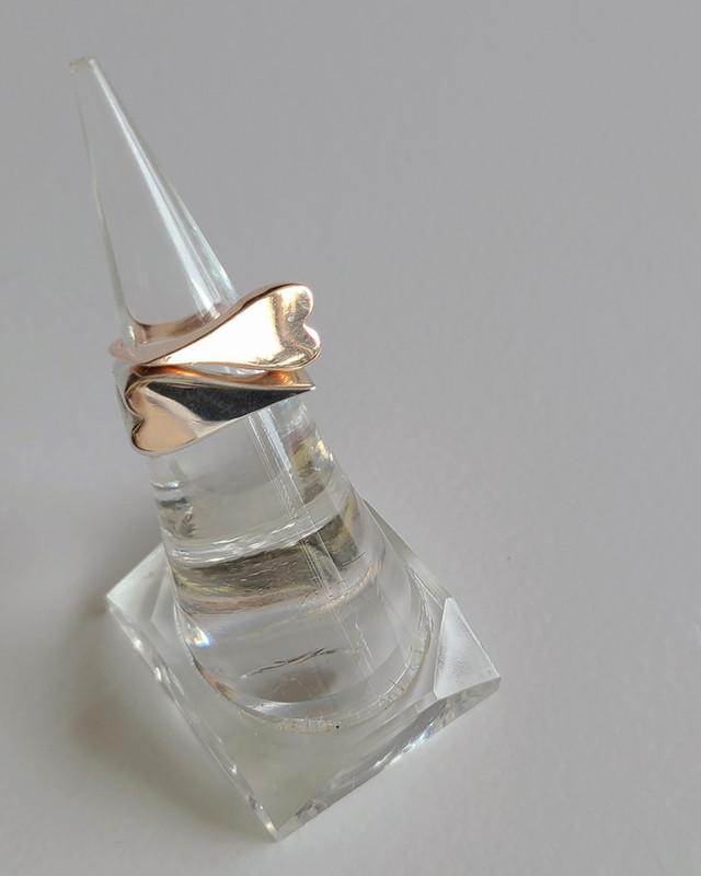 Sideways Love Heart Ring in Sterling Silver jewelry from kellinsilver.com