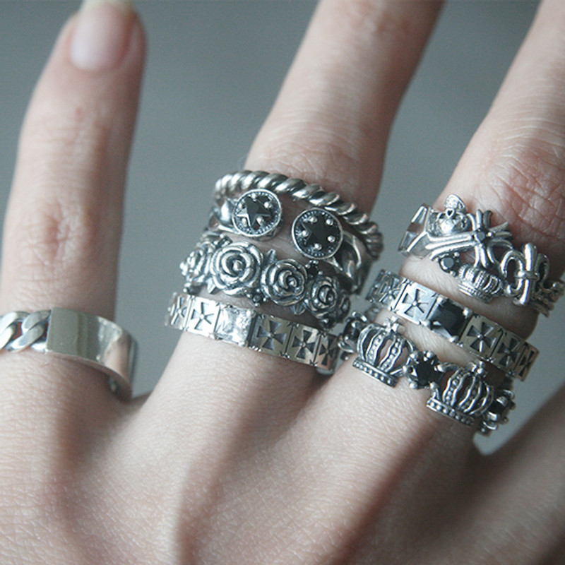 Sterling Silver Twisted Stackable Ring from kellinsilver.com
