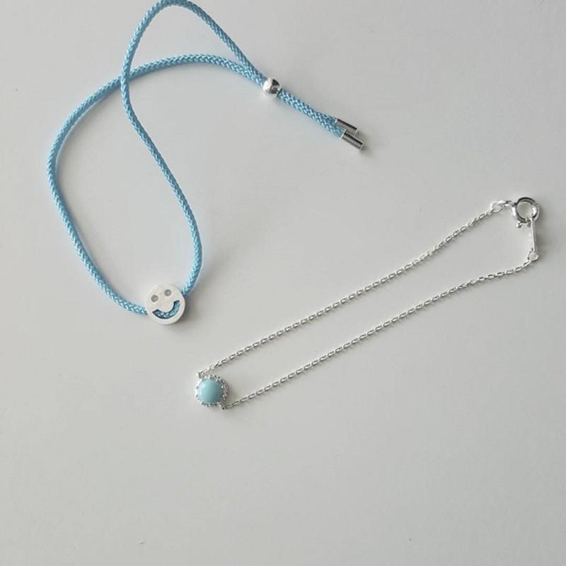 Smile String Anklet Bracelet from kellinsilver.com