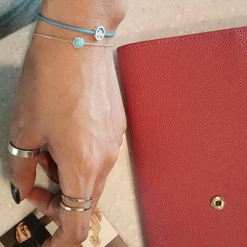 Turquoise Sterling Silver Bracelet from kellinsilver.com