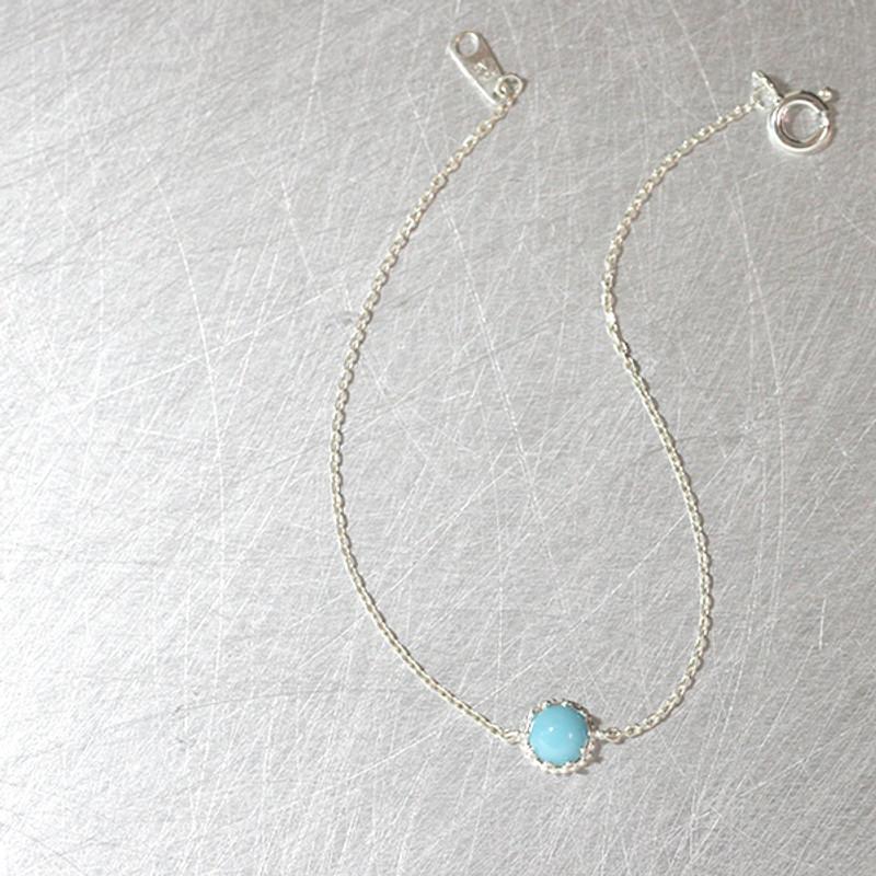 Turquoise Sterling Silver Bracelet from kellinsilver.com