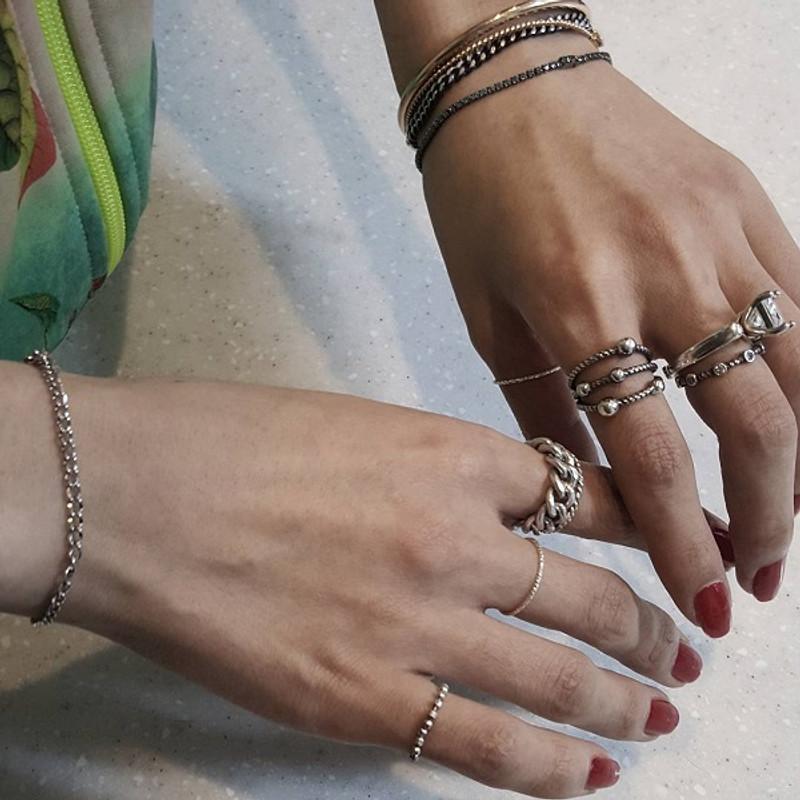 Blue Signity Sterling Silver Tennis Bracelet from kellinsilver.com