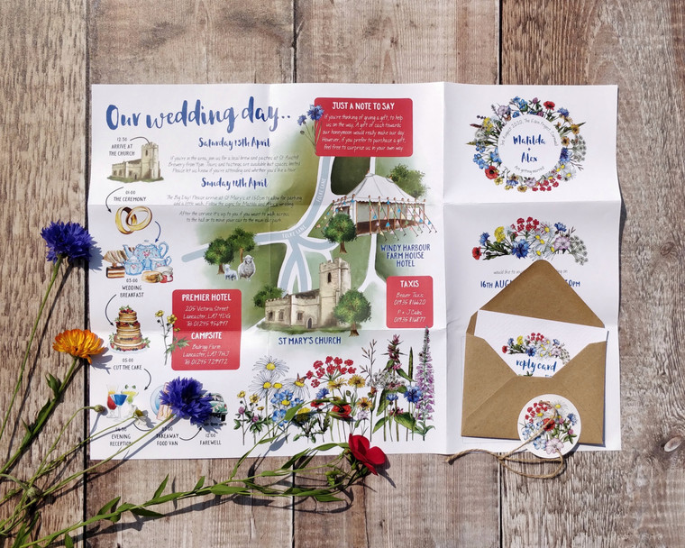 Wild Meadow Folded Poster