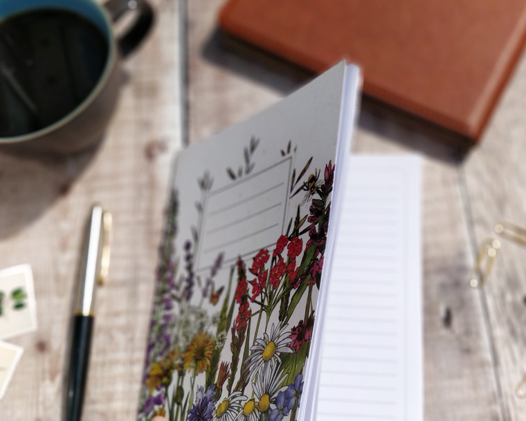 Wildflower notebooks